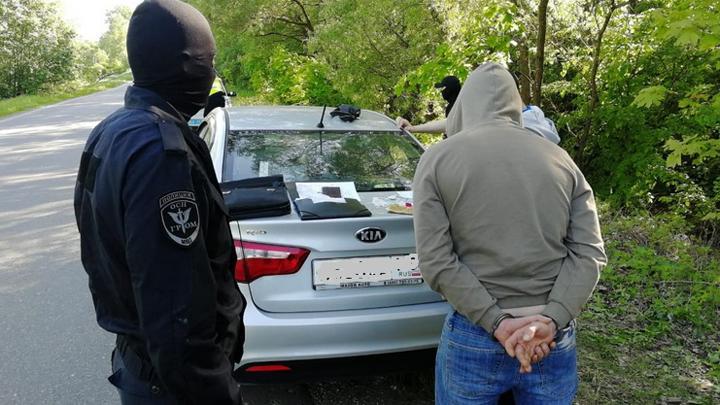 В Киреевском районе задержан туляк,  подозреваемый в незаконном обороте наркотиков