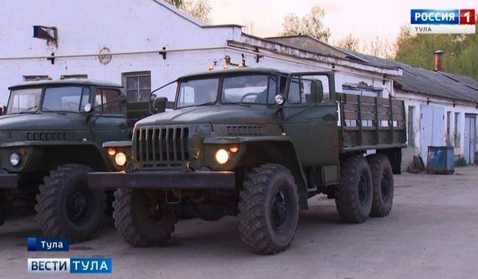 Минобороны России передало технику для нужд Тульской области