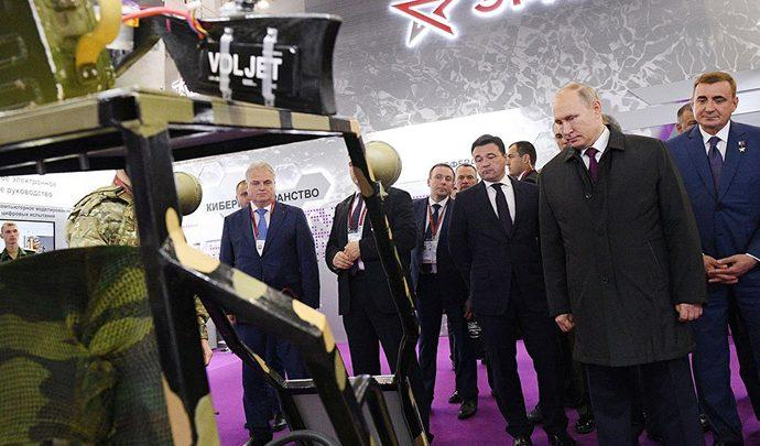 Владимир Путин оценил новейшие разработки тульских оружейников