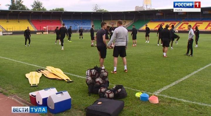 Футболисты тульского «Арсенала» вышли из отпуска