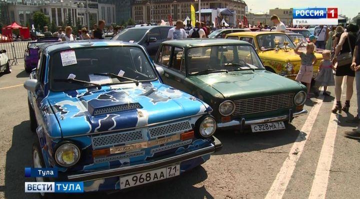 На «Автостраду» в Тулу съехались около 1000 автомобилей
