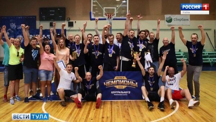 Новомосковские баскетболисты выиграли зональный этап Межрегиональной любительской лиги