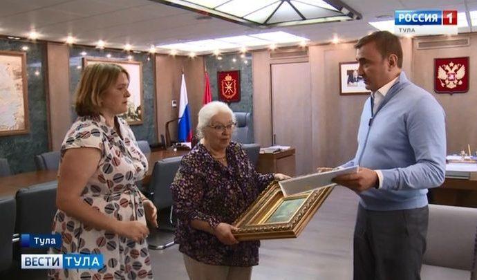 Алексей Дюмин подарил музейщикам не известную им картину Поленова