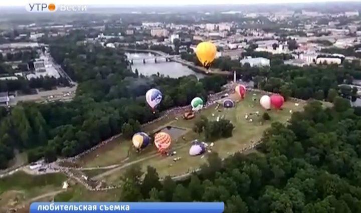 Тульские аэронавты привезли серебро Чемпионата России
