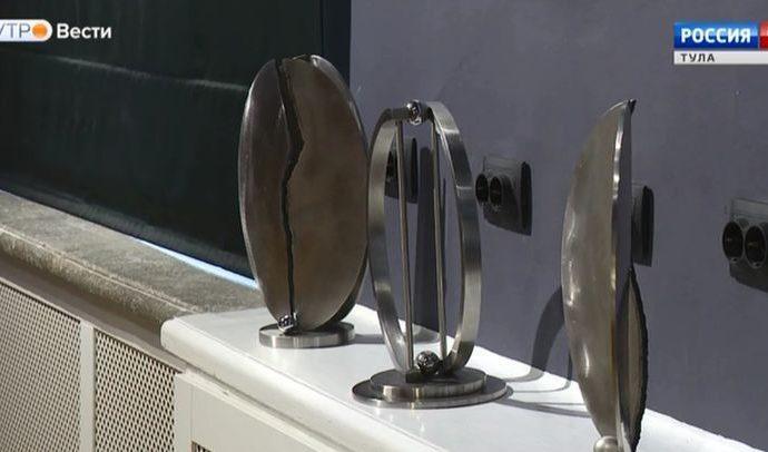 Итальянский укротитель стали представил свои работы тулякам