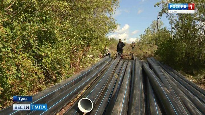 В Туле заменят особо ветхие сети водоснабжения