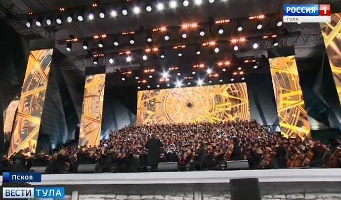 Тульские одаренные дети спели в уникальном российском хоре