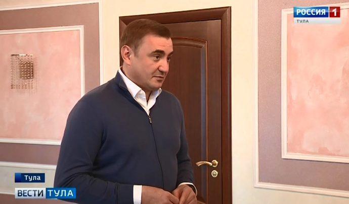 Алексей Дюмин поздравил участников Дельфийских игр