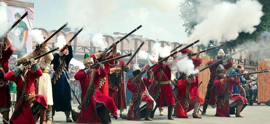 Фестиваль исторической реконструкции в Тульском кремле