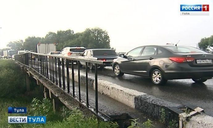 Баташёвский мост довели до критического состояния и закрыли