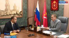 Алексей Дюмин стал наставником замглавы администрации Новочеркасска