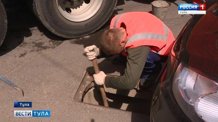 Успеют ли в Туле до осени отремонтировать ливневую канализацию?