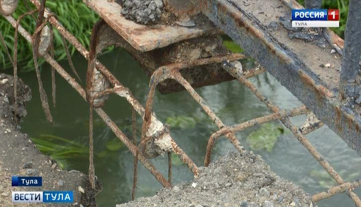 В Донском закрыт аварийный мост