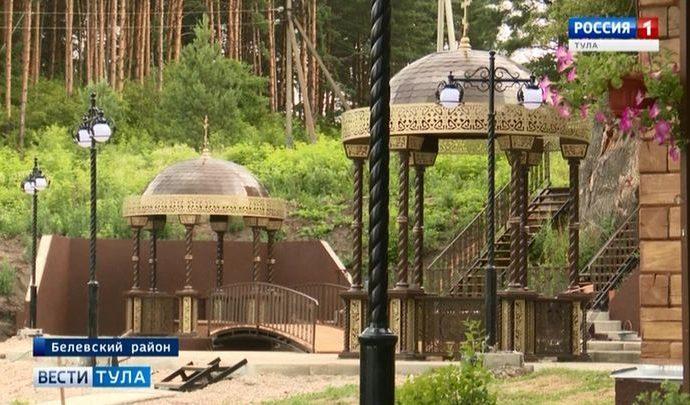 Территория Жабынского монастыря преобразилась за полтора месяца