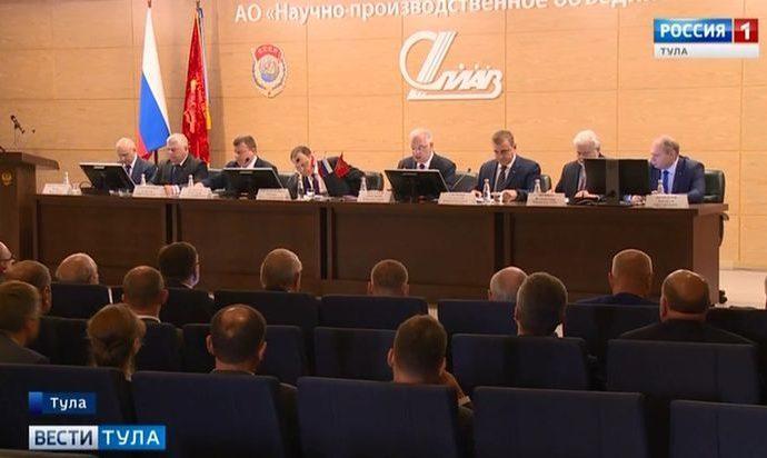 В Туле обсудили пути военно-технического сотрудничества с Белоруссией