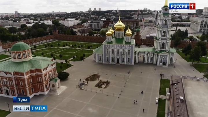 На территории Кремля туляки смогут заглянуть в археологическое окно