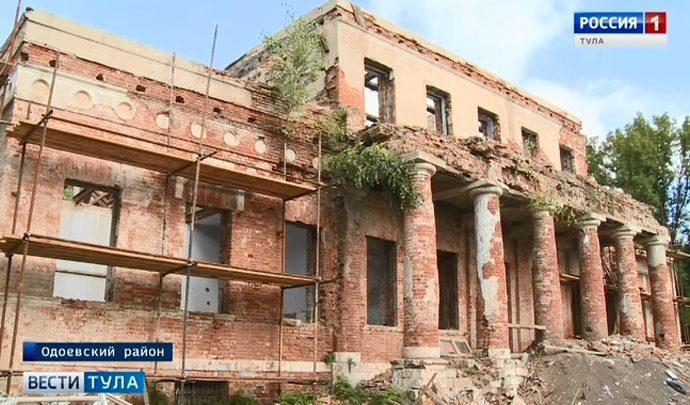 Усадьба Мирковичей в Одоевском районе вновь станет архитектурной жемчужиной
