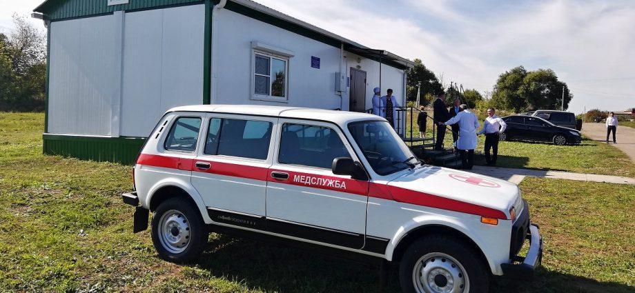 Открытие ФАПа в деревне Малая Огарёвка Богородицкого района