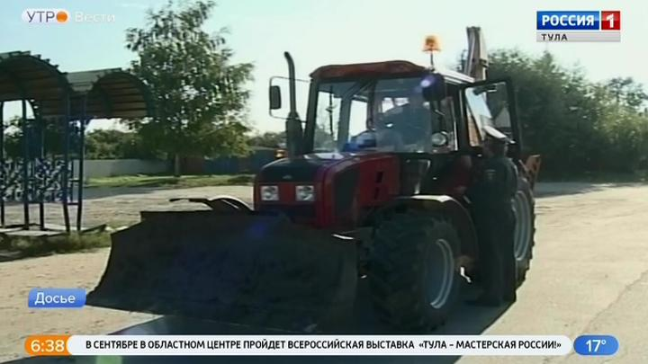 В Одоеве стартовала операция «Трактор 2019»
