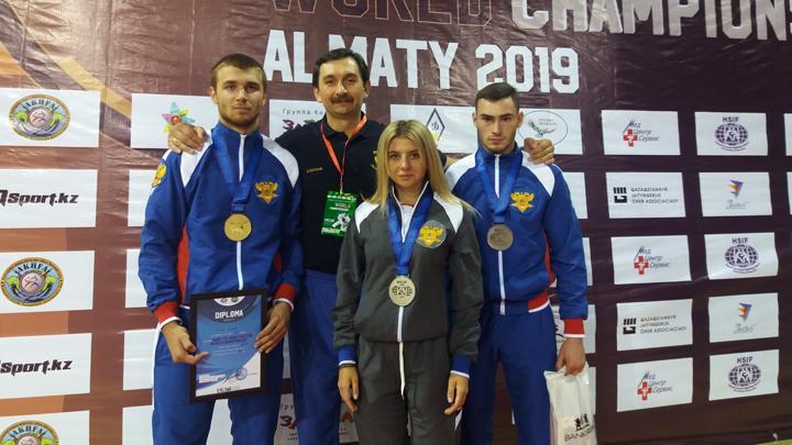 Туляки привезли из Казахстана полный комплект медалей