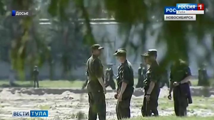 Тульский военнослужащий обнаружен мертвым в Новосибирске