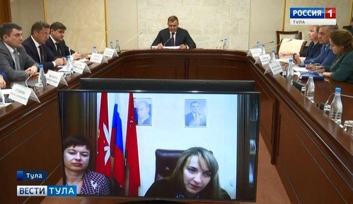 Алексей Дюмин поможет жителям, обратившимся к нему по видеосвязи
