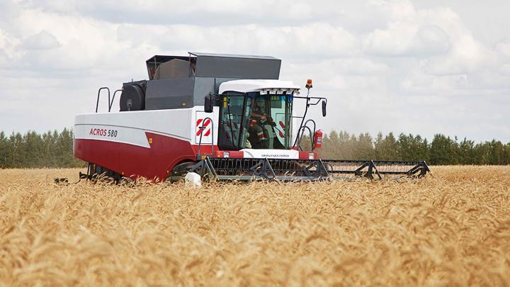 С тульских полей собрали 330 тысяч тонн зерна