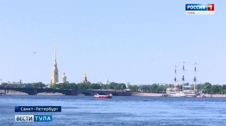 Юные «гвардейцы» из Узловой проходят военные сборы в Петербурге
