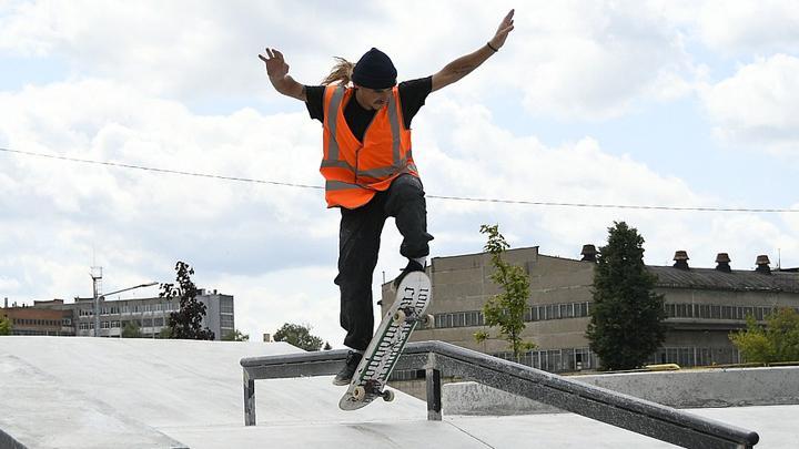 На тульской набережной откроется скейт-парк