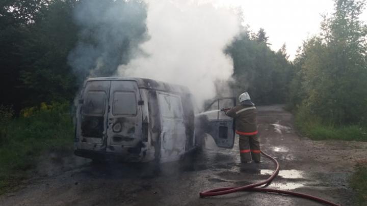В Тульской области в августе зарегистрировано 11 случаев возгорания машин