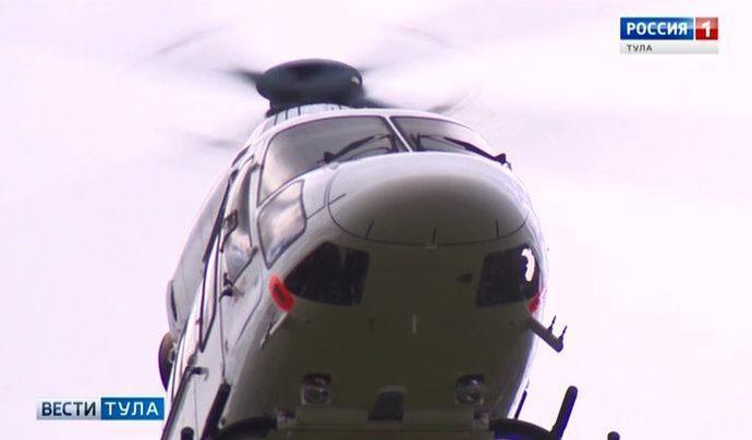 Между Тулой и Москвой будет запущено вертолётное сообщение