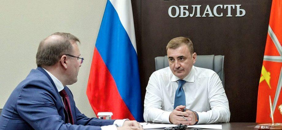 Алексей Дюмин и Павел Веселов