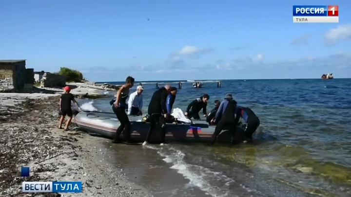 Тульские дайверы вернулись из экспедиции на мыс Тарханкут