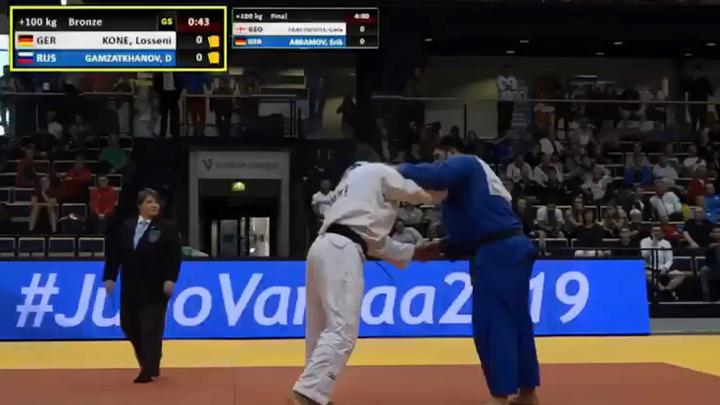 Тульский дзюдоист завоевал «бронзу» первенства Европы