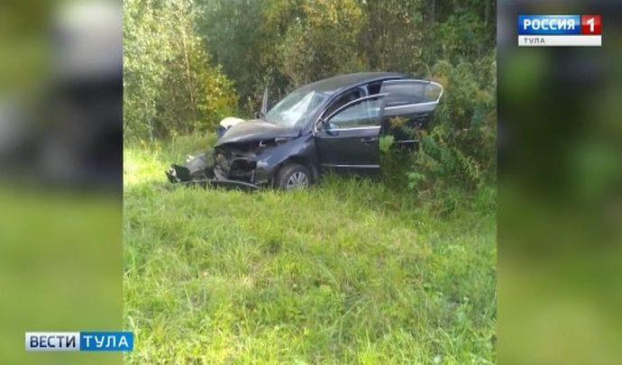 Два человека погибли в ДТП на дорогах Тульской области