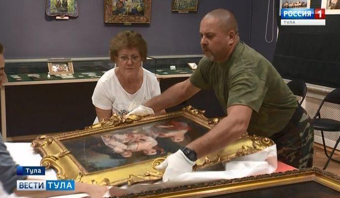 В Тулу привезли бесценные картины из Третьяковской галереи