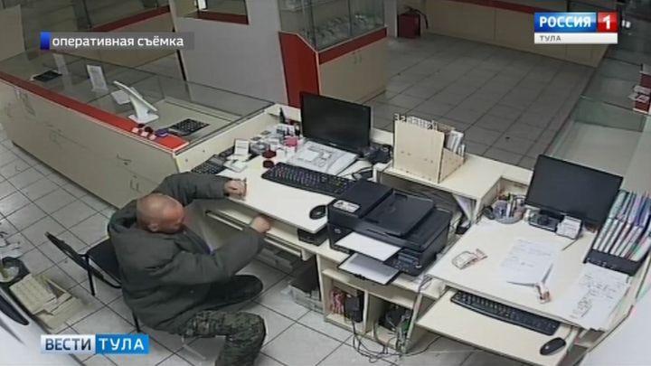 В Ефремове задержан подозреваемый в покушении на кражу