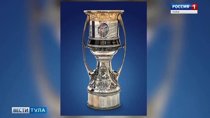 В Тулу впервые привезли Кубок Гагарина