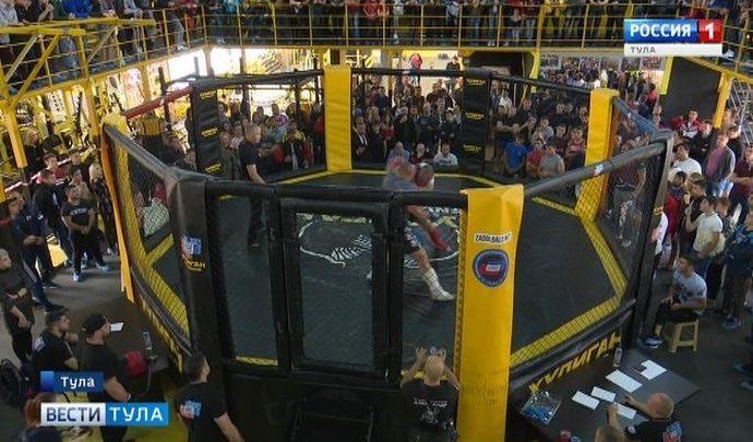 В Туле состоялся открытый турнир по ММА