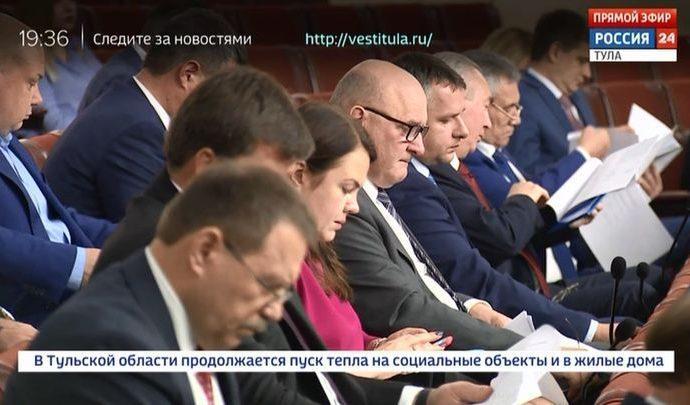 Тульская облдума 7-го созыва начала работу с двух заседаний подряд