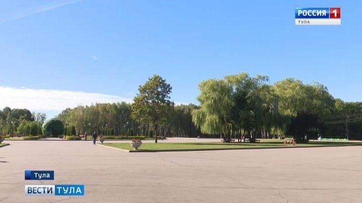 Детские аттракционы в Центральном парке Тулы меняют график работы
