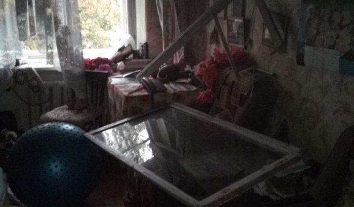 В квартире на проспекте Ленина сегодня тушили пожар