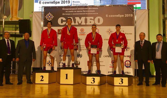 Тульский самбист завоевал «бронзу» в Москве