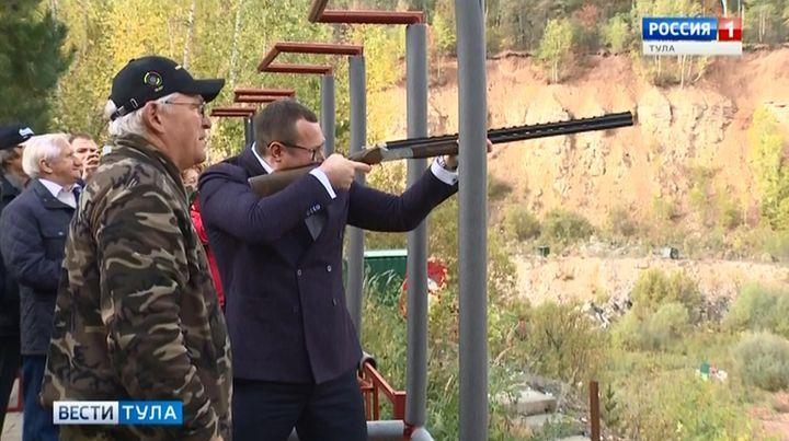 В Туле прошли соревнования по стендовой стрельбе на Кубок губернатора
