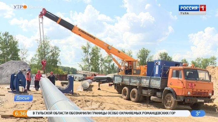 В Ленинском завершена укладка нового трубопровода
