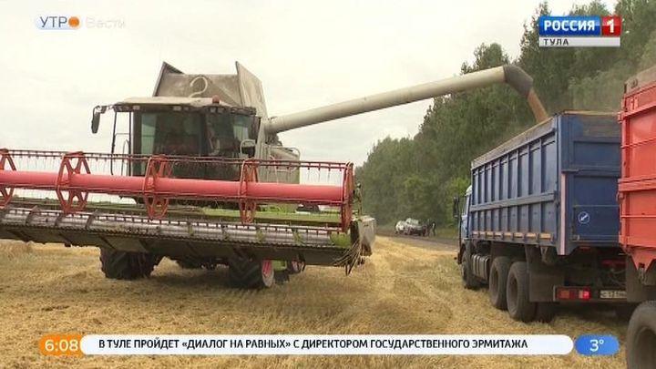 В Кимовском районе подвели итоги уборки зерновых