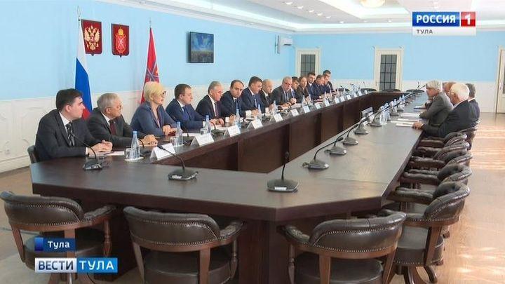 Алексей Дюмин встретился с Президентом итальянской провинции Фрозиноне