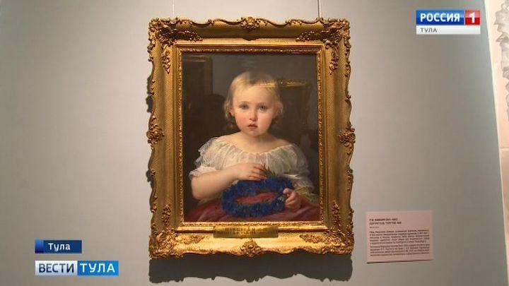 В тульском музее открылась выставка картин из Третьяковки