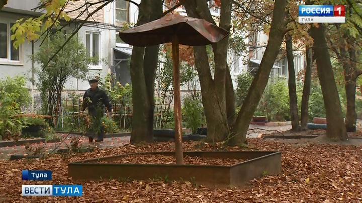 В Туле демонтированные детские площадки заменят новыми