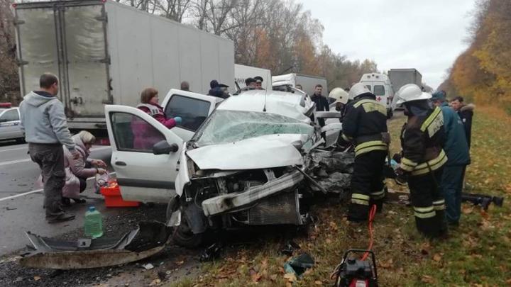 ДТП с несколькими пострадавшими произошло в Чернском районе